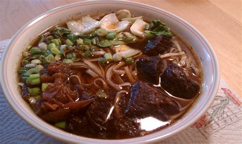 noodle soup recipe taiwanese beef noodle soup recipe dishmaps