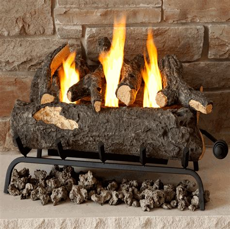 Convert Your Gas And Wood Burning Fireplace To Real Flame