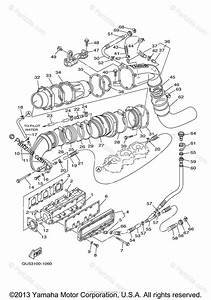 Yamaha Waverunner 2002 Oem Parts Diagram For Exhaust  1