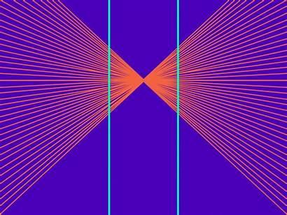 Optical Illusions Illusion Visual Hering Graphic Found