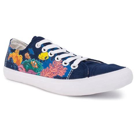 reef sneakers oceanic octopus fish tennis shoe for blue