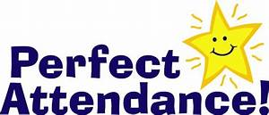 Perfect Attendance Clipart