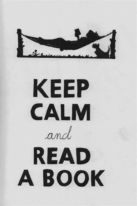 keep calm and read a book on Tumblr