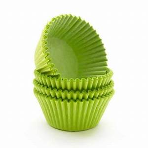 Lime Green Cupcake Papers