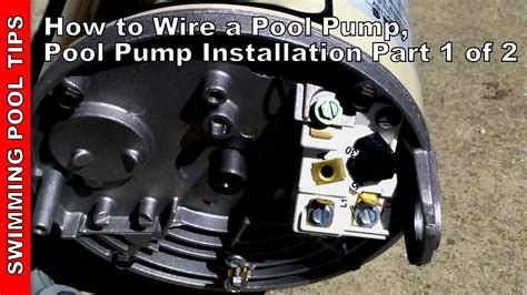 How Wire Pool Pump Installation Part