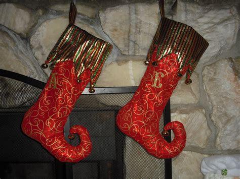 cute christmas elf stockings