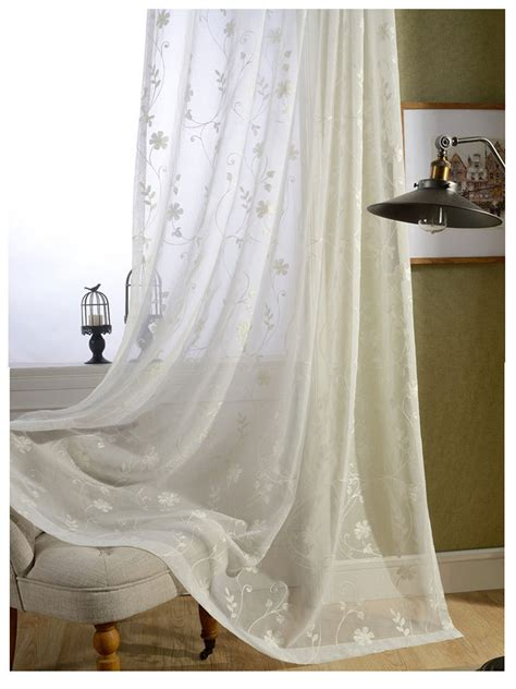 free shipping finished white cotton embroidered voile