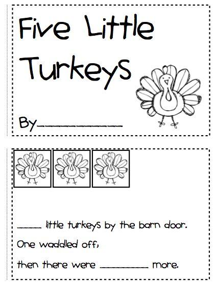 kindergarten fever thanksgiving printables kindergarten fever november 2011