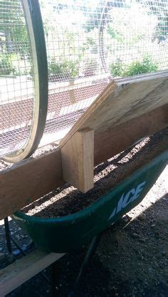 Homemade trommel type motorized compost mixer/aerator, or