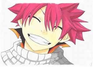 Fairy Tail - Natsu (Smiling) by Eyesmilenergy on DeviantArt