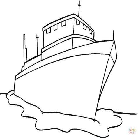 Barco Dibujo Para Pintar by Dibujo De Buque Para Colorear Dibujos Para Colorear
