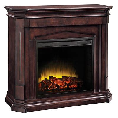 Pleasant Hearth Compton Electric Fireplace  Mocha Bj's