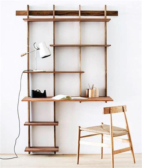 Wall Hung Bookshelf by Best 25 Bookshelf Desk Ideas On Desk