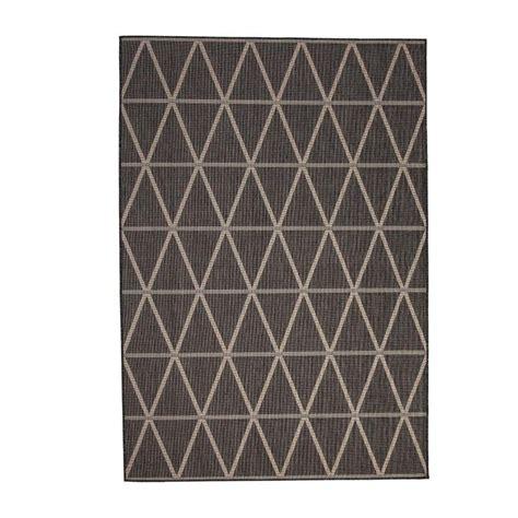 sams area rugs sams international veranda charcoal 7 ft 9 in x