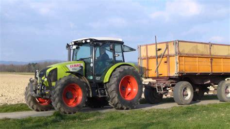 Claas Traktor Mit Anh 228 Nger