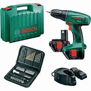 Batterie Bosch Psr 1200 : perceuse visseuse sans fil bosch psr 12 nicd 12 v 1 2 ah ~ Edinachiropracticcenter.com Idées de Décoration