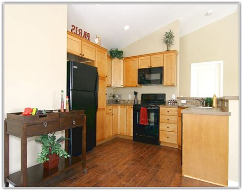 wood kitchen floors light painted cabinets with wood floors wood floors 6466