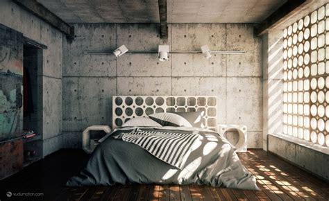 chambre deco industrielle idee deco chambre industrielle