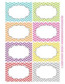 designer labels free printable chevron labels from sonya dehart design
