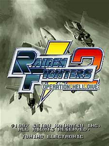 Raiden Fighters 2  Operation Hell Dive Arcade Video Game