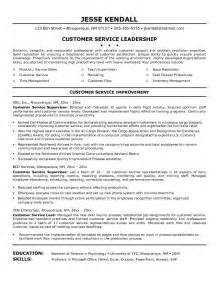 Great Objectives For Resumes For Customer Service by Customer Service Objective Resume Berathen