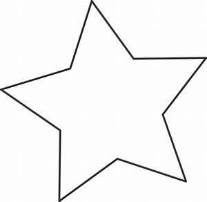 White Star Black Clip Art at Clker.com - vector clip art ...