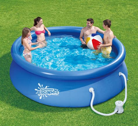 Summer Escapes 10ft By 30in Quick Set Ring Pool Set Sears