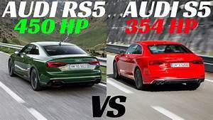 2018 Audi Rs5 Vs S5 V6 Sound Check