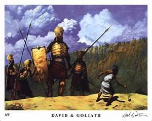 Keith Newton - David and Goliath - Christ-Centered Art