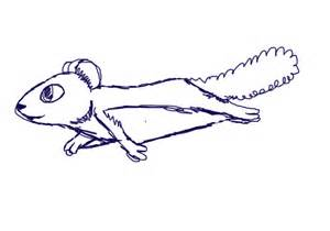 Flying Squirrels Animated Cartoon