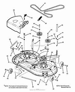 Snapper Yz145383bve 38 U0026quot  14 5 Hp Ztr Yard Cruiser Series 3 Parts Diagram For 38 U0026quot  Mower Deck