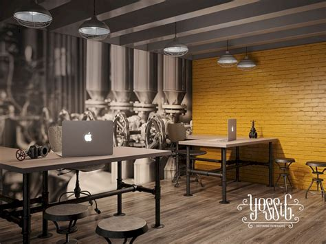 Industrial Office Interior Design Ideas – DECOREDO