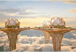 Al Fin Potpourri  City In the Sky vs  Floating Islands and Cities  Floating House In The Sky