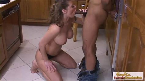 Busty Mature Gets Bent Over Her Kitchen Counter And