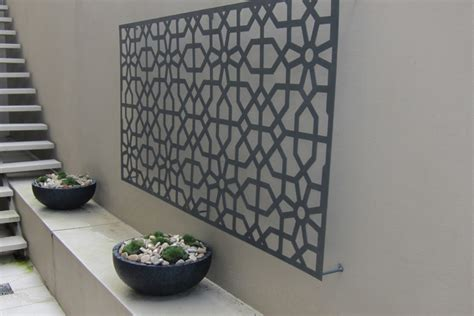 How To Outdoor Metal Wall Decor Drilling Holes In The