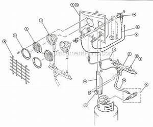 Mr  Heater Mh24t Parts List And Diagram