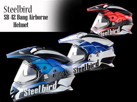 Steelbird Sb 42 Bang Airborne Motocross Helmet Launched