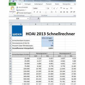 Architektenleistung Nach Hoai : gratis download honorarschnellrechner nach hoai 2013 f r ~ Lizthompson.info Haus und Dekorationen
