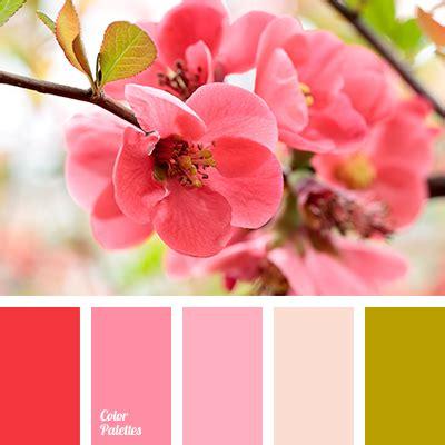 cherry blossom color scarlet color palette ideas