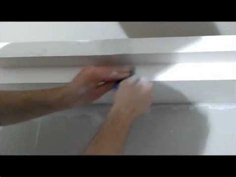 corniche pour cuisine corniche lumineuse en staff plâtre pour éclairage
