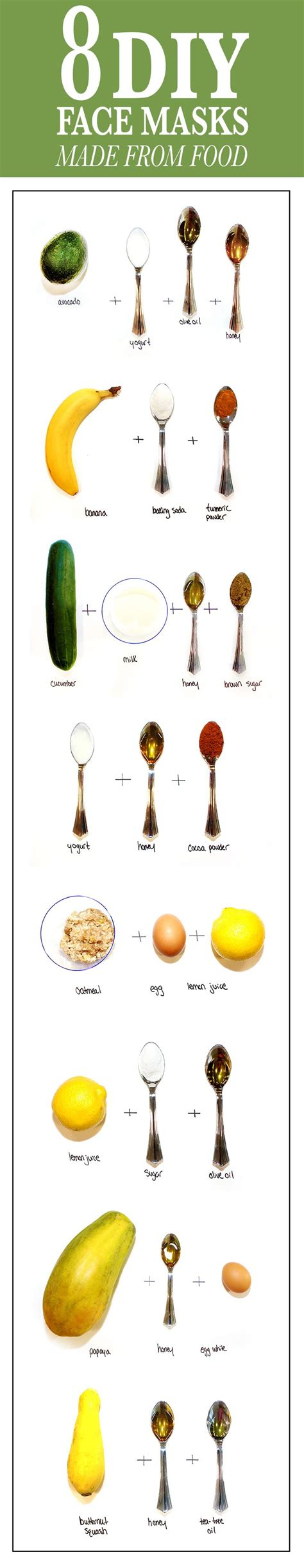 masking cuisine the 25 best skin care ideas on clear skin