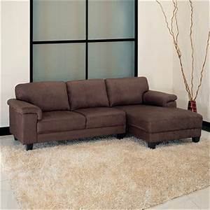 camden microsuede sectional sectional includes sofa With 65 sectional sofa