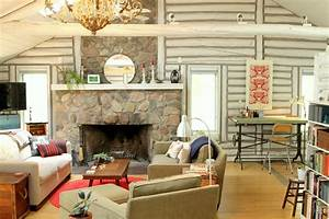 log cabin decorating ideas Hall Rustic with club glass