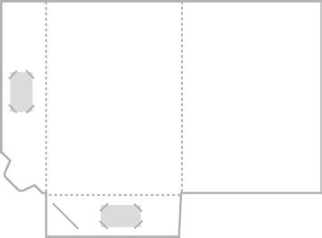 a5 interlocking folder template a4 folder with interlocking pocket artwork template