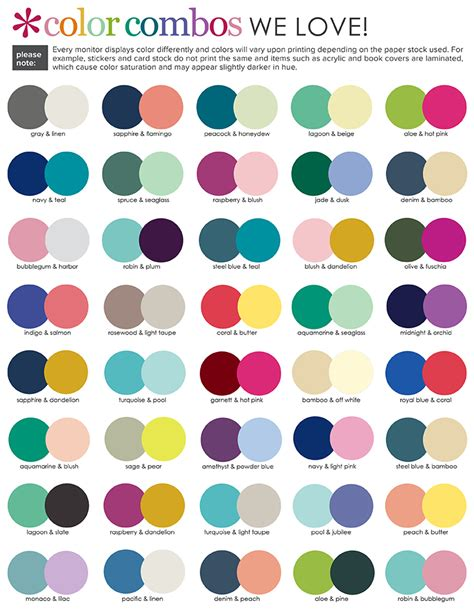 color pairs erin condren design it s always a time to get