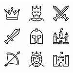 Medieval Icon Packs Iconos Icons Fantasy Map
