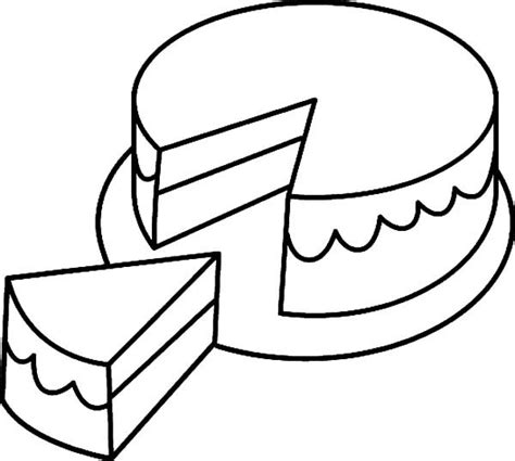 frosted cake coloring pages  place  color