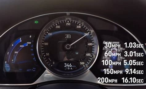 How Fast Is The Bugatti Chiron by How Fast The Bugatti Chiron Accelerates 187 Autoguide