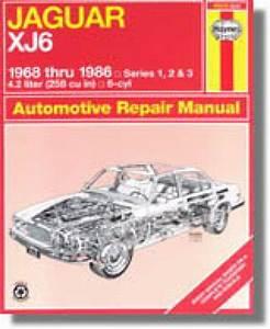 Haynes Jaguar Xj6 1968