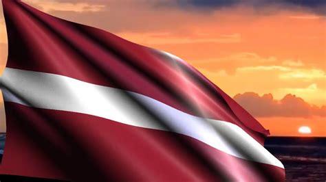 latvijas karogs Latvian flag letonya bayrağı - YouTube
